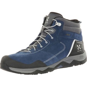 Haglöfs Roc Claw Mid Shoes Men blue ink/haze
